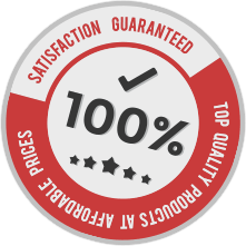 100% Satisfaction Guarantee!